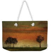 Sunset Over The Country Weekender Tote Bag