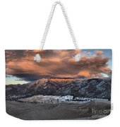 Sunset Over The Dunes Weekender Tote Bag