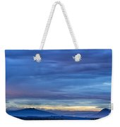 Sunset Over The European Alps Weekender Tote Bag