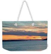 Sunset Over The Golden Gate Weekender Tote Bag