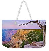 Sunset Over The Grand Canyon From South Rim Trail In Grand Canyon National Park-arizona   Weekender Tote Bag