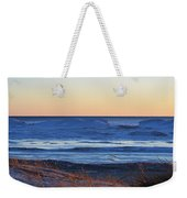 Sunset Over The Ice Weekender Tote Bag
