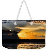 Sunset Over The Mead Wildlife Area Weekender Tote Bag