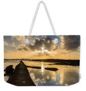 Sunset Over The Ocean I Weekender Tote Bag