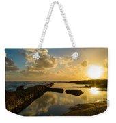 Sunset Over The Ocean II Weekender Tote Bag