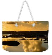 Sunset Over The Ocean V Weekender Tote Bag by Marco Oliveira