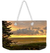 Sunset Over The Pacific Ocean Weekender Tote Bag