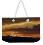Sunset Over The Tucson Mountains Weekender Tote Bag
