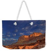Sunset Over The Waterpocket Fold Capitol Reef National Park Weekender Tote Bag