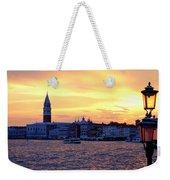Sunset Over Venice Weekender Tote Bag