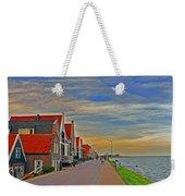 Sunset Over Volendam Weekender Tote Bag