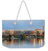 Sunset Over Watergate Weekender Tote Bag