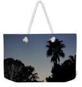 Sunset Palm Weekender Tote Bag