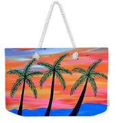 Sunset Palms Weekender Tote Bag