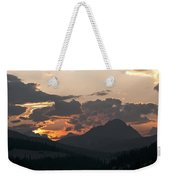 Sunset Panorama Banff National Park Weekender Tote Bag