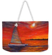 Sunset Passion Weekender Tote Bag