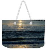 Sunset Pier Weekender Tote Bag by Carey Chen
