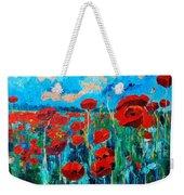 Sunset Poppies Weekender Tote Bag