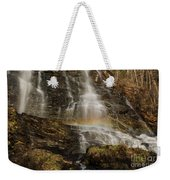 Sunset Rainbow At Amicalola Falls Weekender Tote Bag