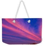 Sunset Rays Weekender Tote Bag