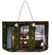 Sunset Reflection On Empress Window Weekender Tote Bag