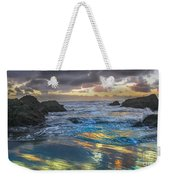 Sunset Reflections Weekender Tote Bag by Robert Bales