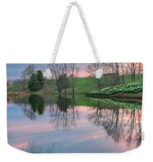 Sunset Reflections Square Weekender Tote Bag