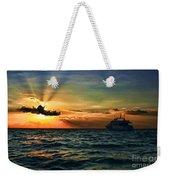 Sunset Regatta  Weekender Tote Bag