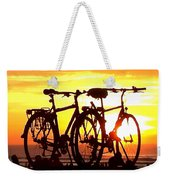 Sunset Ride Weekender Tote Bag