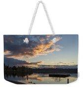 Sunset Ripples In Time Weekender Tote Bag