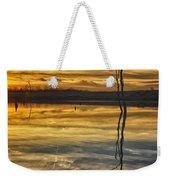 Sunset Riverlands West Alton Mo Dsc03317 Weekender Tote Bag