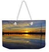 Sunset Riverlands West Alton Mo Dsc03329 Weekender Tote Bag