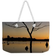 Sunset Riverlands West Alton Mo Portrait Dsc06670 Weekender Tote Bag
