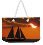 Key West Sunset Sail 3 Weekender Tote Bag