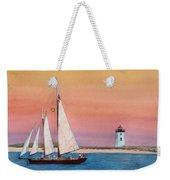 Sunset Sail Weekender Tote Bag