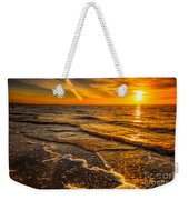 Sunset Seascape Weekender Tote Bag by Adrian Evans