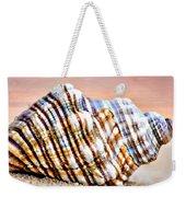 Sunset Seashell Weekender Tote Bag