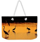 Sunset Silhouette Weekender Tote Bag by Al Powell Photography USA