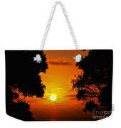 Sunset Silhouette By Diana Sainz Weekender Tote Bag