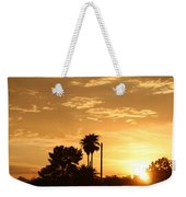 Sunset Sillouette Weekender Tote Bag