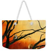 Sunset Sitting Weekender Tote Bag by Lourry Legarde