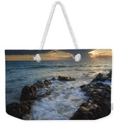 Sunset Spillway Weekender Tote Bag