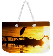 Sunset Still Weekender Tote Bag