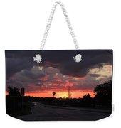 Black Cloud Cometh Weekender Tote Bag