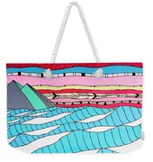 Sunset Surf Weekender Tote Bag by Susan Claire