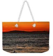 Sunset Surfer Weekender Tote Bag