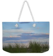 Sunset Through Grass Weekender Tote Bag
