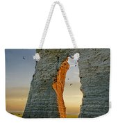 Sunset Through The Keyhole Weekender Tote Bag