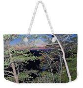Sunset Thru The Pines Weekender Tote Bag