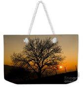 Sunset Tree Weekender Tote Bag by Anne Gilbert